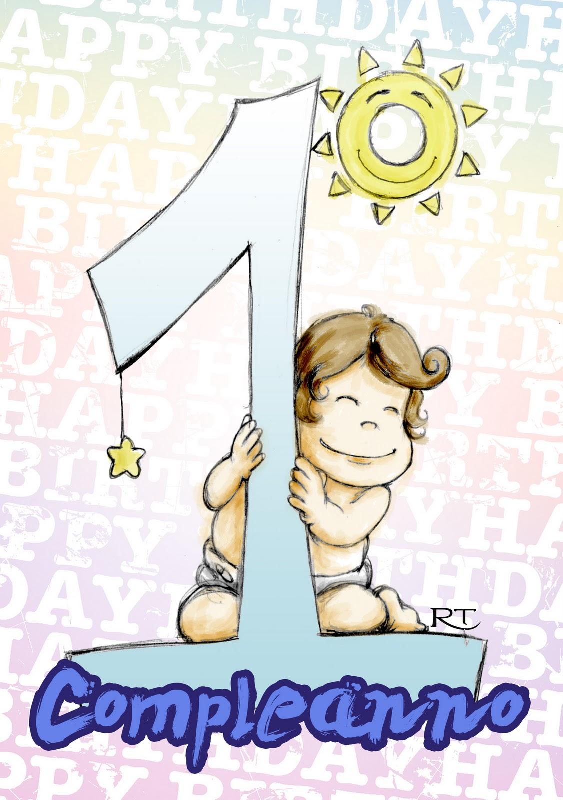 Rosa Taormina Illustrator: Buon Compleanno Gabriel!   Sketchavember 3