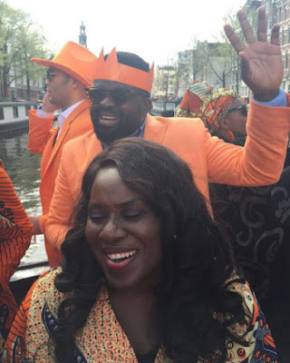 nigerian entertainers amsterdam king's day festival