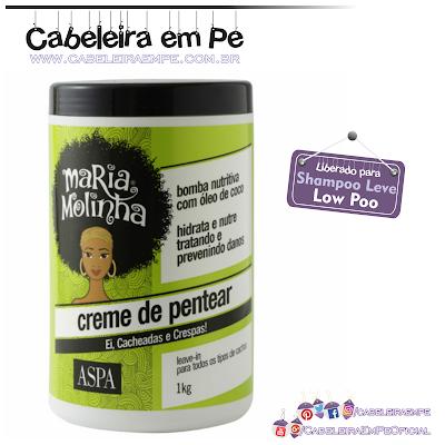 Creme De Pentear Maria Molinha - Aspa