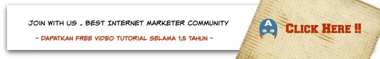 iklan banner komunitas bisnis internet