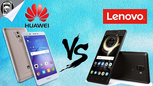 مقارنة بين Huawei Gr5 2017 Vs Lenovo K8 Note