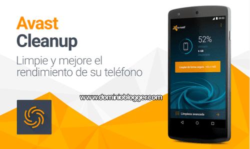 mejora el rendimiento de tu telefono con Avast Cleanup