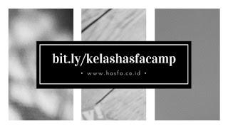Formulir Pendaftaran Pelatihan Di Hasfa Camp