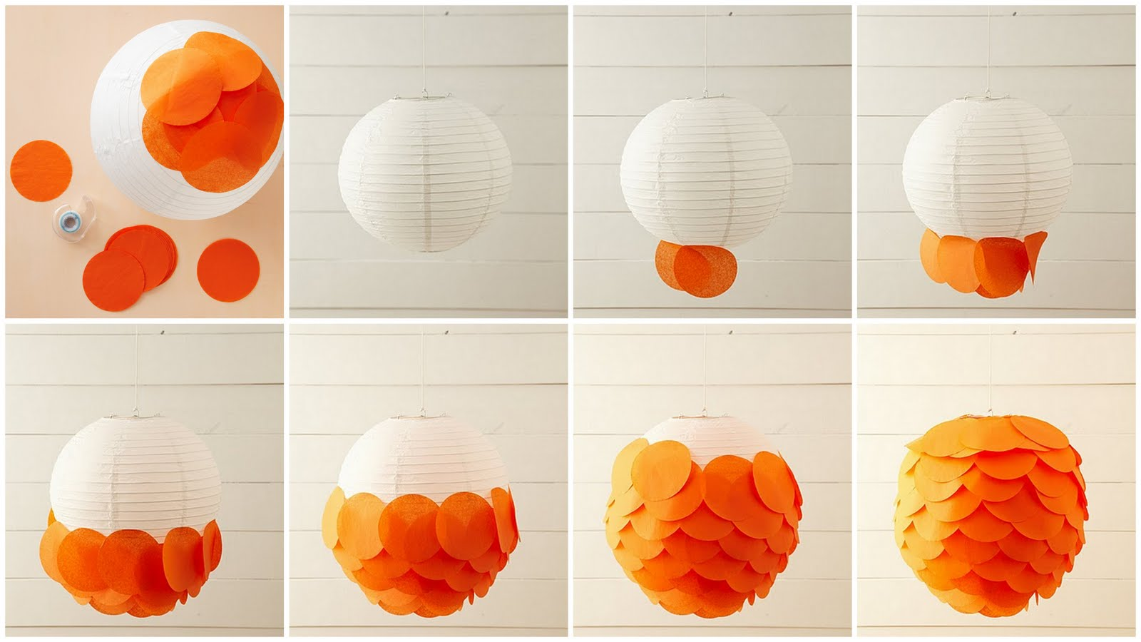 LovelyGirls Weddings + Events: DIY: Tissue Paper Lantern