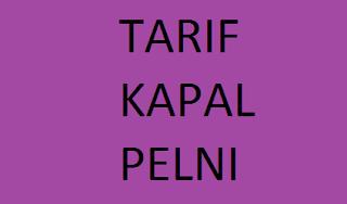 Tarif Tiket Pelni