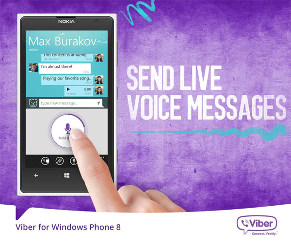 Viber 4.2 Tawarkan Fitur Pesan Suara Instan