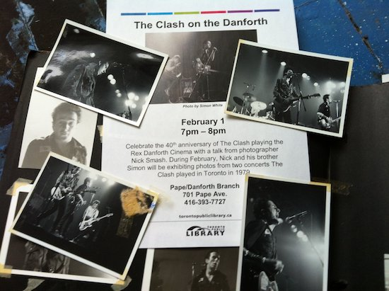 The Clash on Danforth @ Pape/Danforth Library, February 1