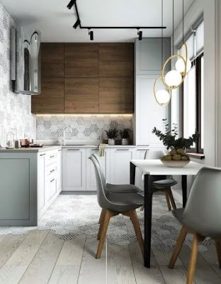 Choosing Minimalist Kitchen Colors To Make Look Larger