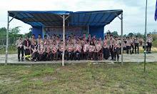 Pembukaan Kegiatan Perkemahan Tingkat SMA se-Kabupaten Sekadau