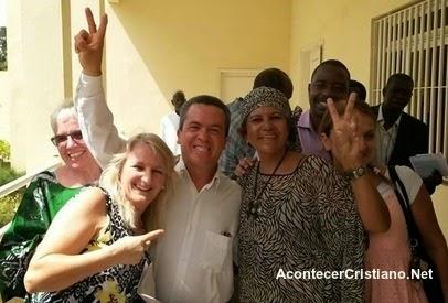 Misioneros brasileños en Senegal