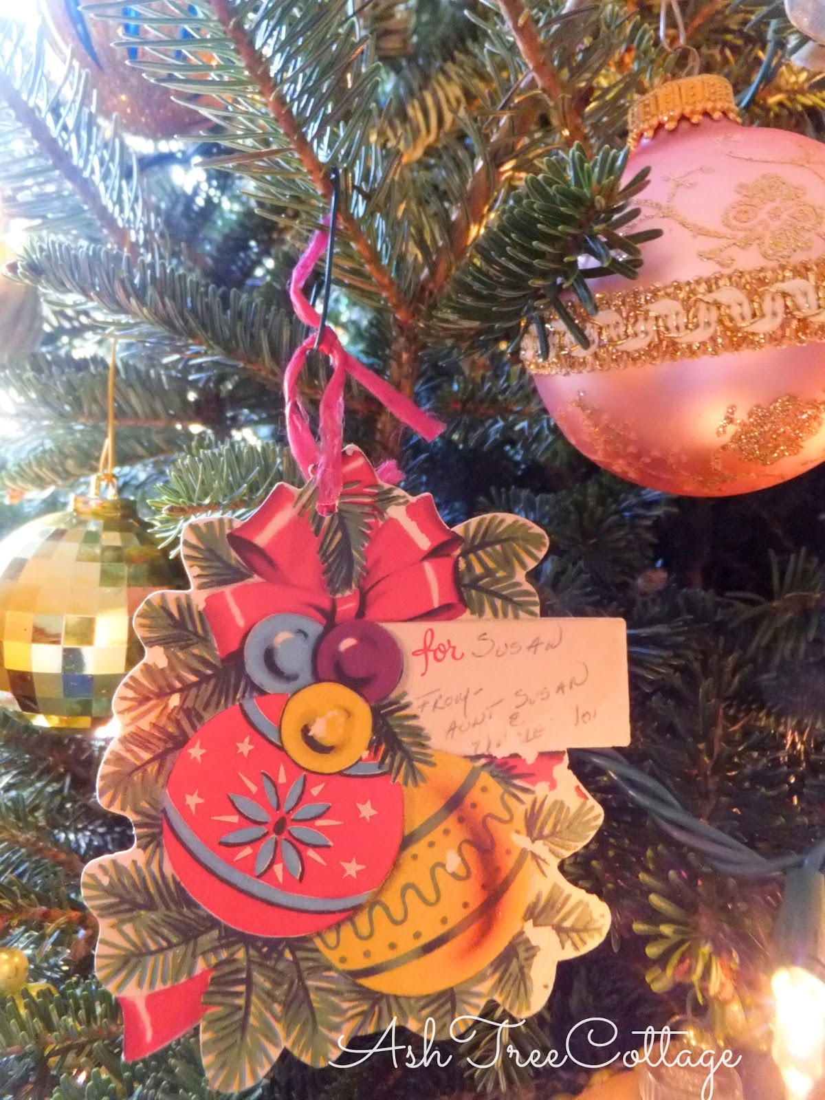 Ash Tree Cottage: Finding Comfort in Old Christmas Ornaments