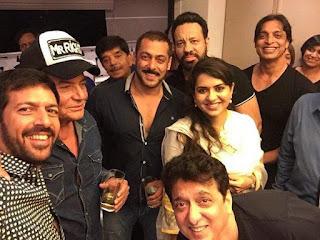 Shoaib Akhtar With Salman Khan Shoaib Akhtar Bollywood