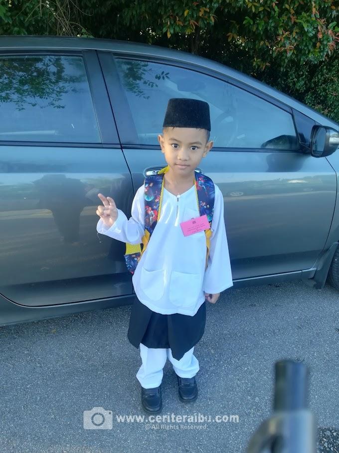 Abang Faris Zakwan dah Darjah 1