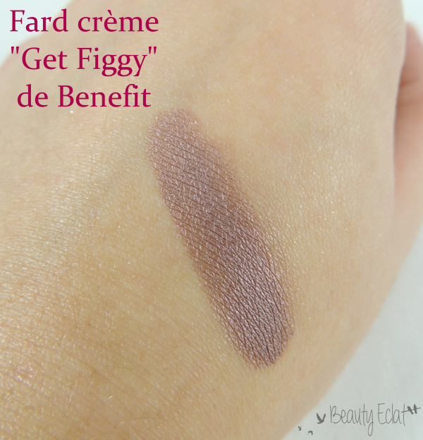 revue avis test get figgy benefit swatch