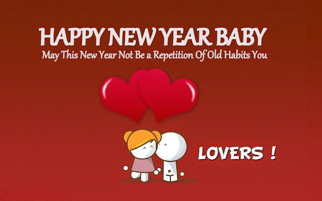 Happy New Year Wishes For Boyfriend