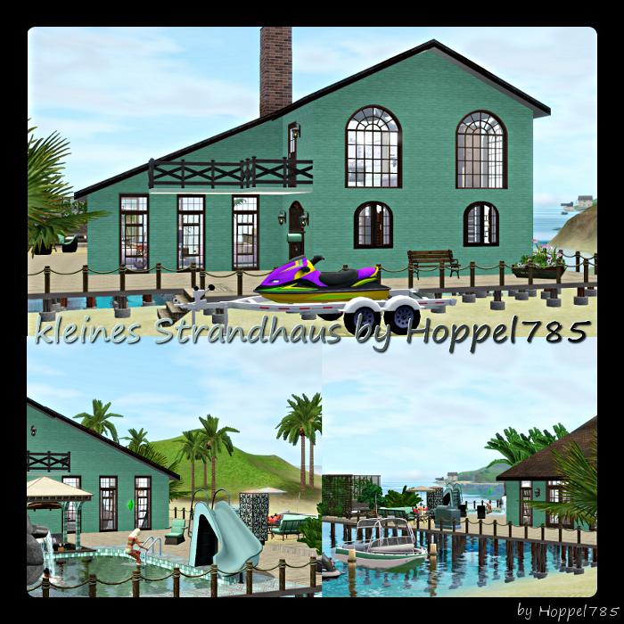 Hoppel785 s kreationen kleines strandhaus by hoppel785 - Kleines strandhaus ...