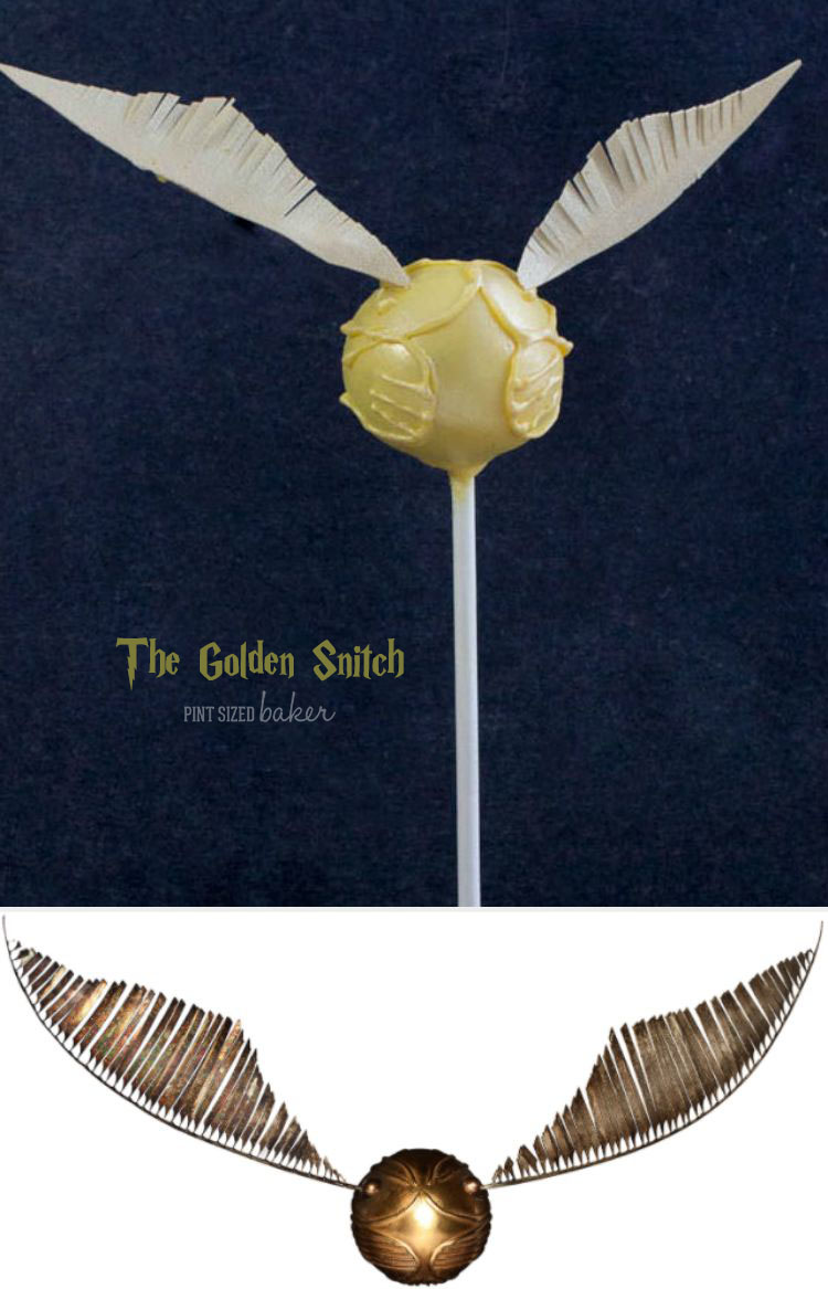 Know any Harry Potter Fans? These Golden Snitch Cake Pops would be the perfect gift! Learn how to make them now!