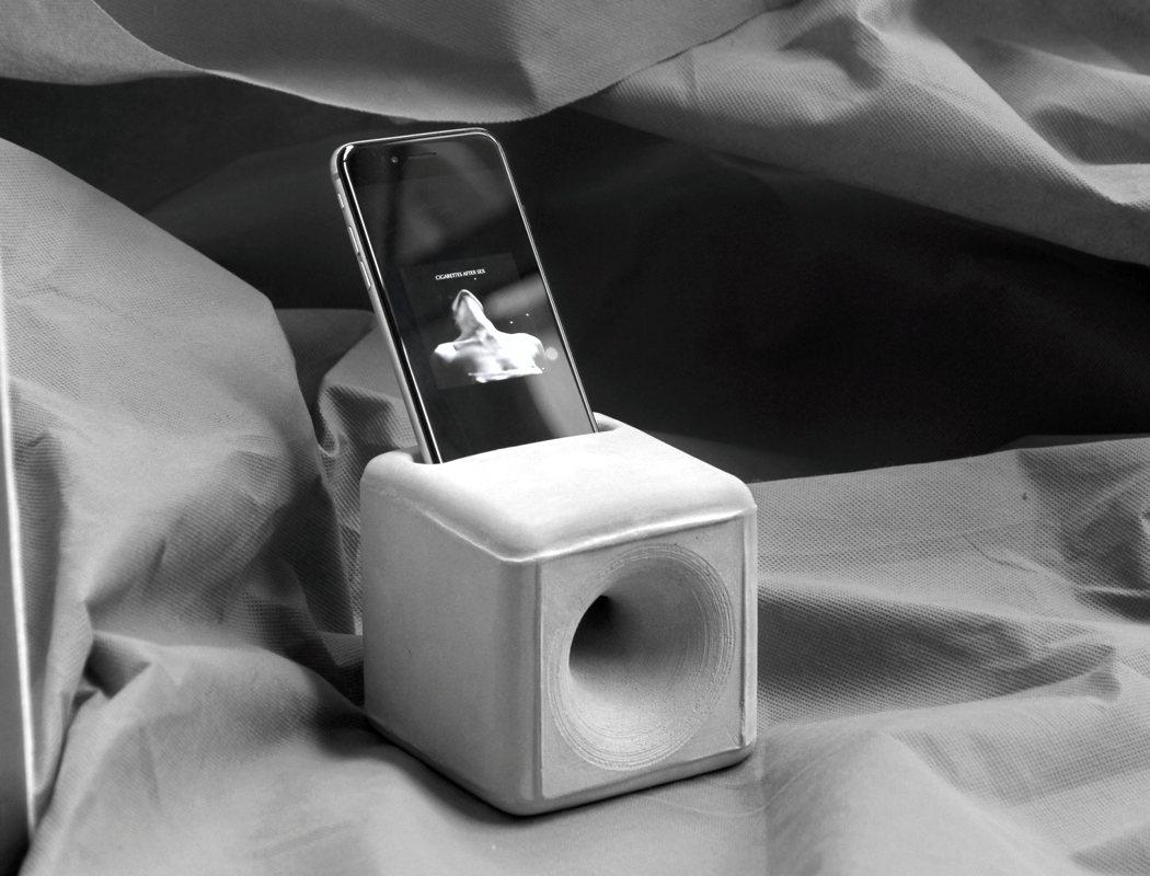 głośnik bezprzewodowy w kształcie kostki