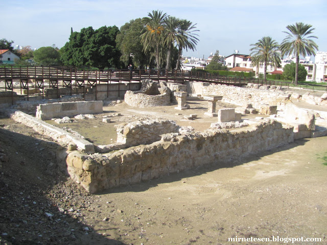 Китион - древний город на месте Ларнаки, Кипр