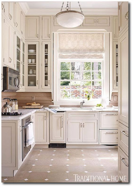Gorgeous small white kitchen by Eleanor Cummings