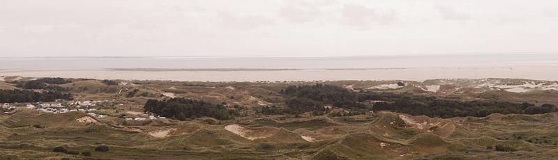 Panorama Ausblick Leuchtturm Amrum Dünen