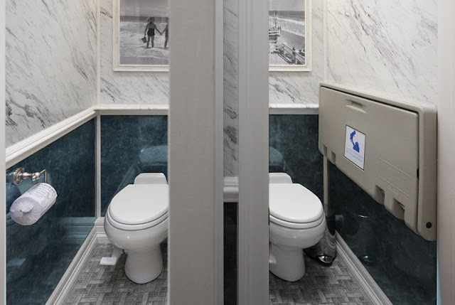 The Atlantic Restroom Trailer with Private Toillet Stalls