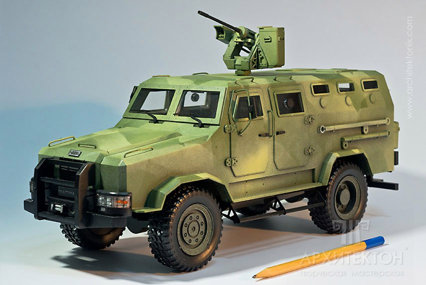 Моделі техніки Козак2 - Ukrainian Military Pages