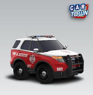 Ford Police Interceptor Utility 2013 Fire & Rescue