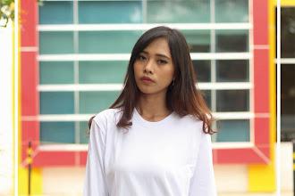 Kaos Polos Lengan Panjang Warna Putih