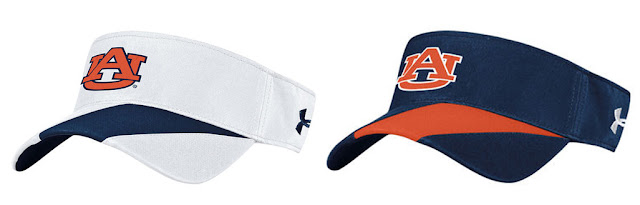 2016 Auburn Under Armour visors