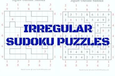 It's just a graphic of Dashing Irregular Sudoku Printable