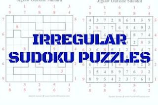 Irregular Sudoku Variation Puzzles