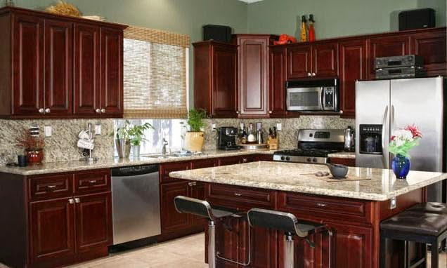 best kitchen cabinet cleaner 3 basin sink all dream home: modern cherry cabinets