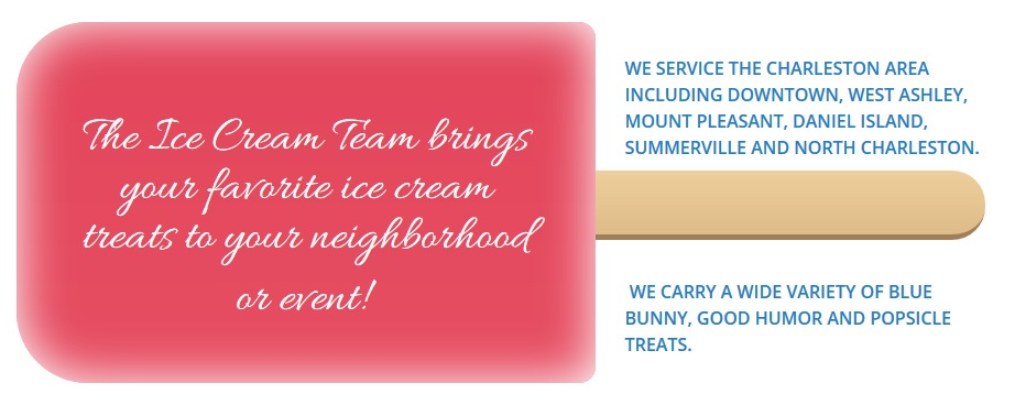 The Ice Cream Team Truck In Charleston And Mount Pleasant SC