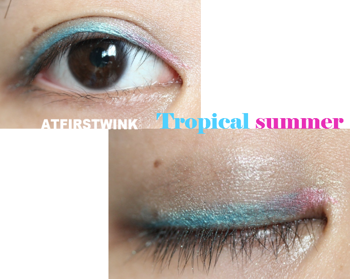 Clio All That Eye Styler Kit 1 - Lie on the beach (Tropical summer look)