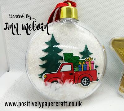 #positivelypapercraft, #christmasornament