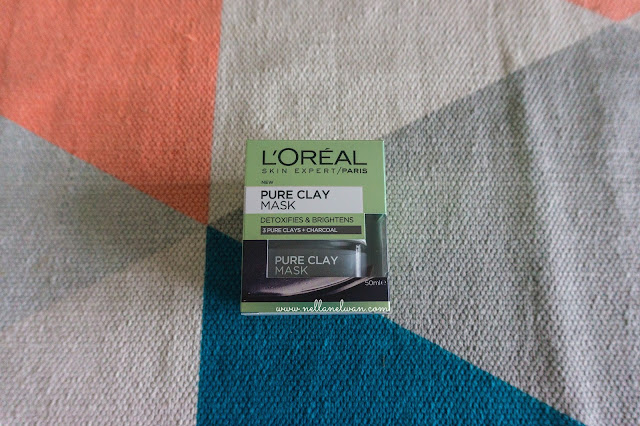loreal pure clay mask review indonesia nellanelwan