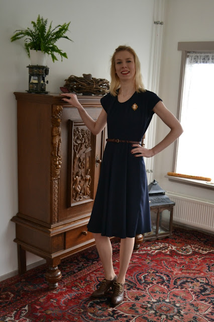 Simplicity 2072 (40s) made by Anthea