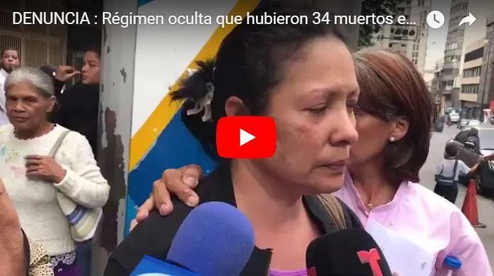 DENUNCIA : Régimen oculta que hubieron 34 muertos en Los Cotorros