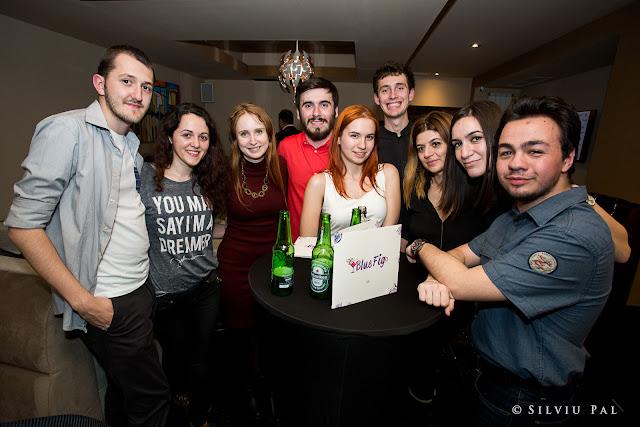 Lansare Blue Fig - Restaurant Lounge - Silviu Pal Blog - HTag PR - Cristian Florea, Alexandru Ion, Iulia Matache, Cosmin Chenger
