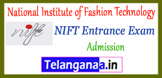 NIFT National Institute of Fashion Technology 2019 Admission Application