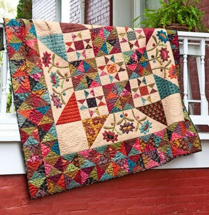 Quilt, Knit, Run, Sew: Working on a Late Bloomers Quilt : american patchwork quilts - Adamdwight.com
