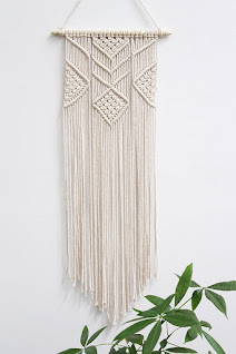 Woven Art Macrame Wall Hanging Tapestry