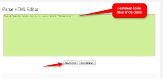 cara membagikan kode script blog agar tidak dieksekusi saat di publikasikan - blog