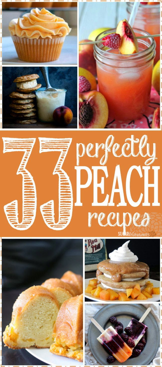 http://sweetsugarblossoms.blogspot.com/2014/06/33-perfectly-peachy-recipes.html