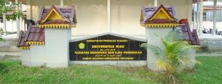 Foto Kampus UNRI Pekanbaru RIAU