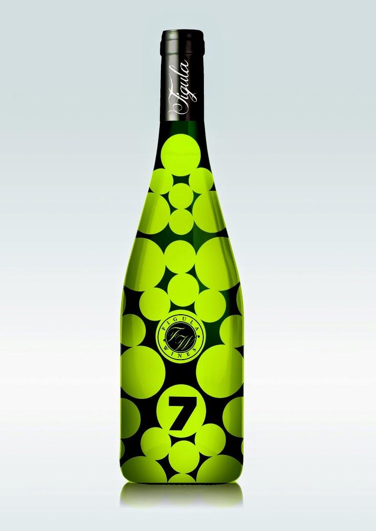 vino design anni '70 bolle verde ramarro packaging grafica etichette etichetta naming numero