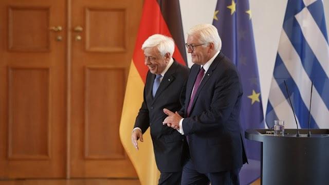Η Επίσημη επίσκεψη του Προκόπη Παυλόπουλου στην Γερμανία.