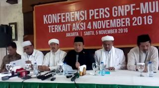 Konferensi Pers GNPF-MUI