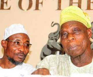 Obasanjo and Rauf Aregbesola